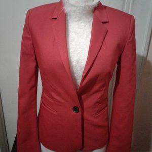 EXPRESS Red Blazer Sz 2
